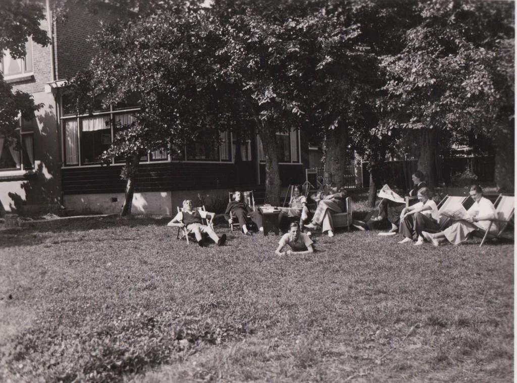 Vakantie Vlieland jaren 30