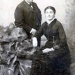 Echtpaar ter Beek-Post in 1883