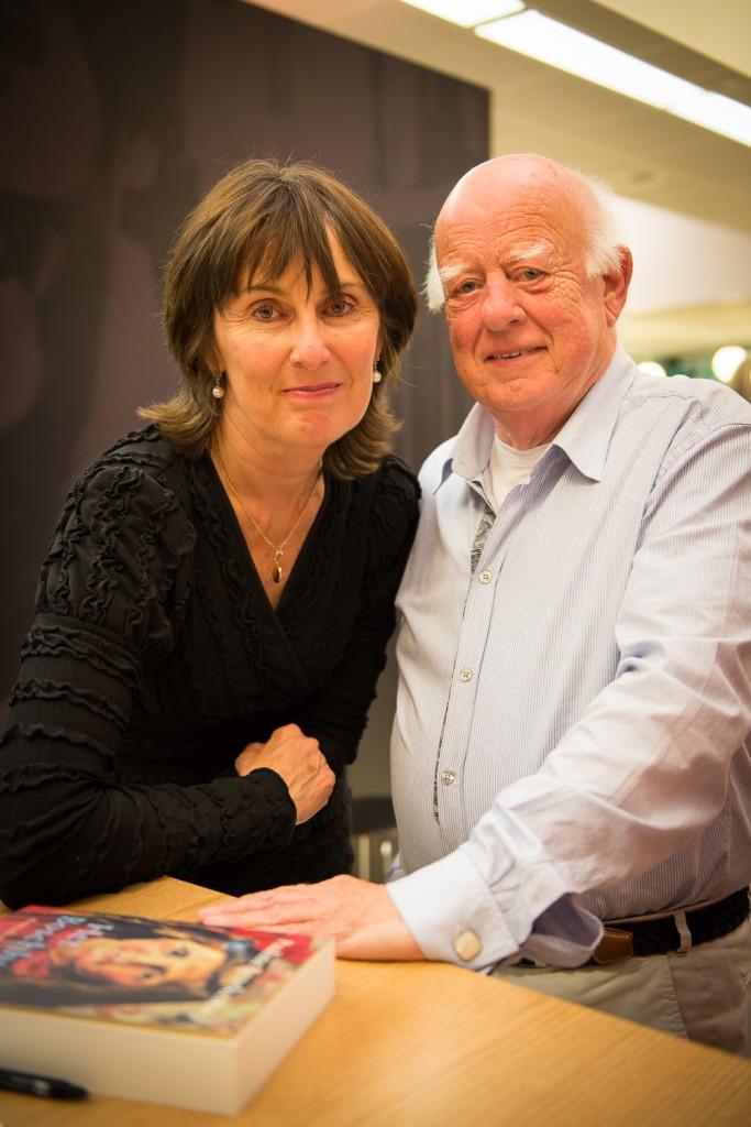 Met `meneer Voorintholt', mijn leraar Nederlands  aan het Wessel Gansfort College