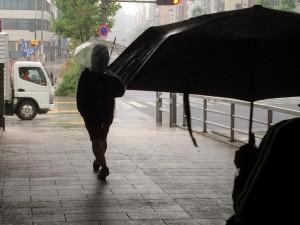 Tokyo, rain
